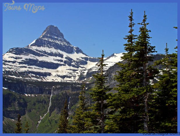 Free Stock Photo in High Resolution - Logan Pass - Montana - Travel