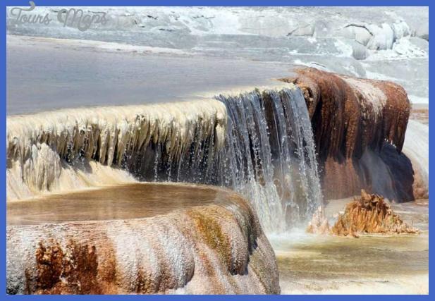 black water and travertine yellowstone 21 Black Water and Travertine Yellowstone