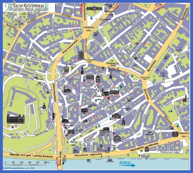 Bratislava City Map