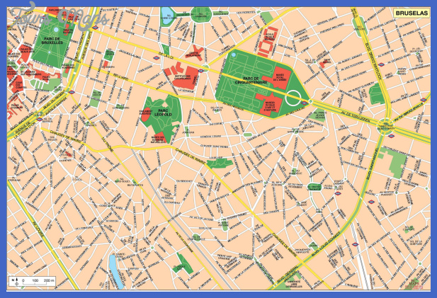 brussels map 4 BRUSSELS MAP