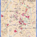 Brussels Map - Tourist Attractions