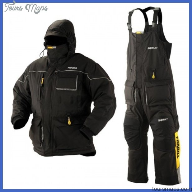 Clothing for ice fishing for Ice fishing jacket