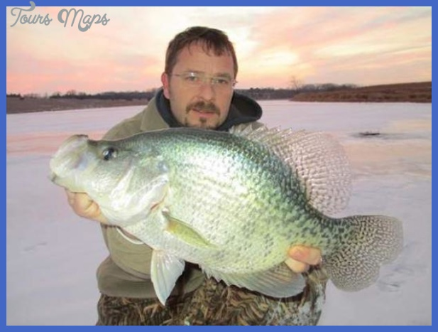 ... caught and released this potential Nebraska state record black crappie