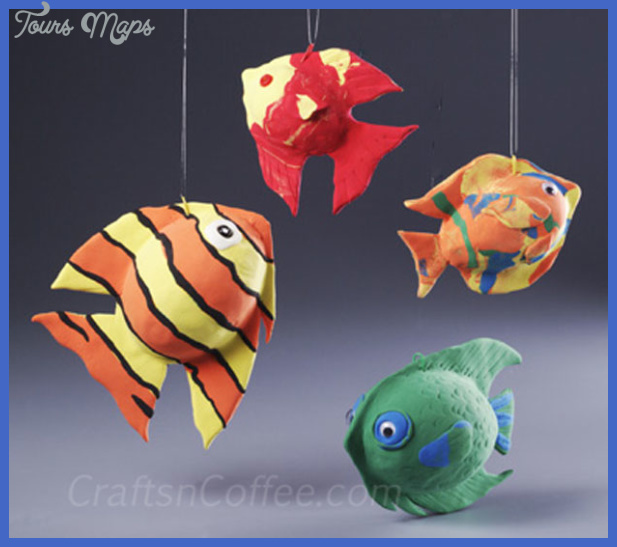 Magic Clay Fish | Fun Family Crafts