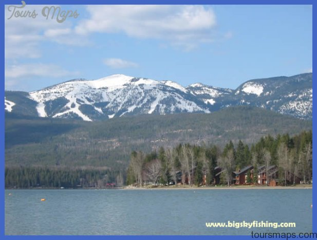 Whitefish Lake | Photos & Information About Various Lakes in Montana