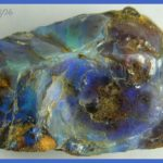 Precious opal,provenance unknown (perhaps Australia). Width 4.3 cm.