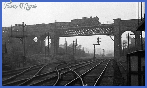 Basford West Junction MR J11 is on GN Derby line bridge c1951 JVol3076 ...
