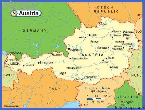 Graz Austria Map GRAZ Austria Map   ToursMaps.®