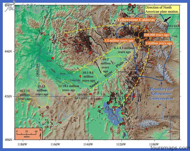 Yellowstone Volcano Activity and Map Information | Daily Postal