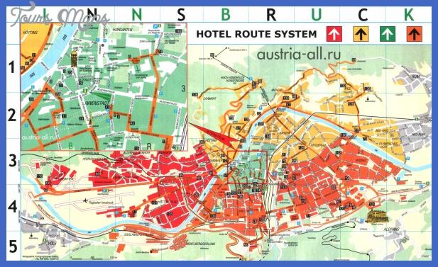 innsbruck map 0 INNSBRUCK MAP