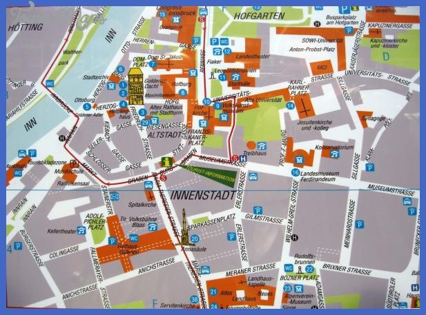 innsbruck map 4 INNSBRUCK MAP