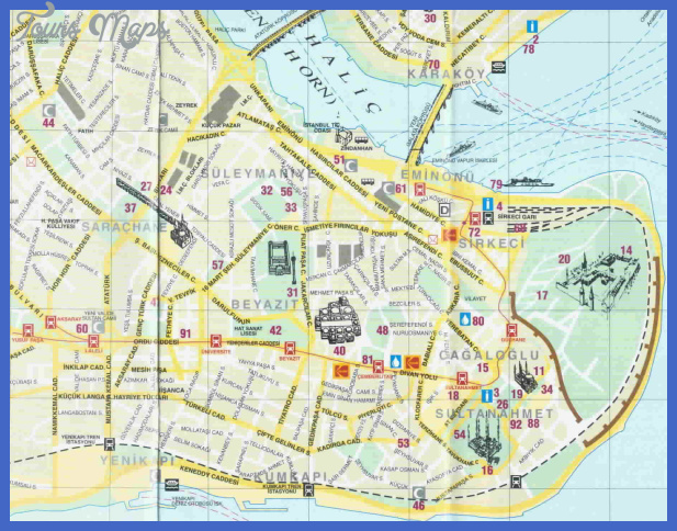 Large Istanbul Maps for Free Download | High-Resolution and ...