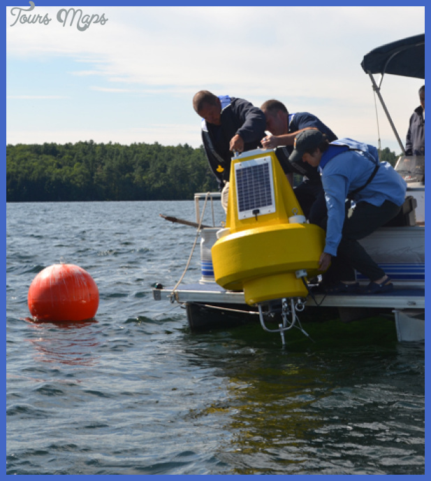 Data buoy on Maine's Lake Auburn tracks important drinking water ...