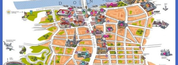 Linz tourist map