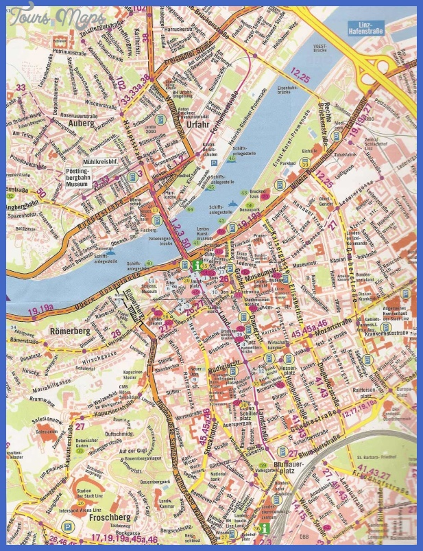 LINZ MAP ToursMapscom