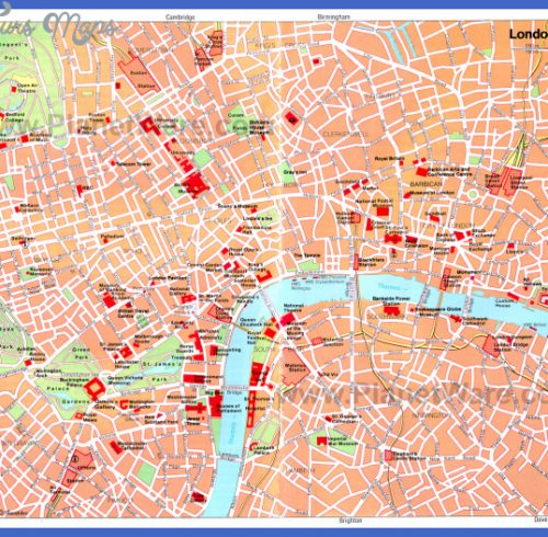 MAP LONDON - Map Guide