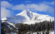 Lone Mountain peak in Big Sky, MT   Favorite Places & Spaces   Pinter ...