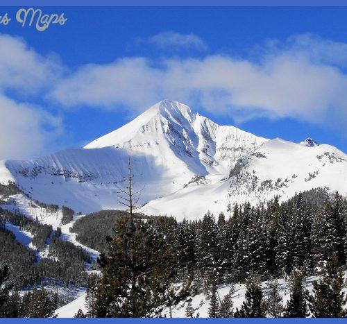 Lone Mountain peak in Big Sky, MT | Favorite Places & Spaces | Pinter ...