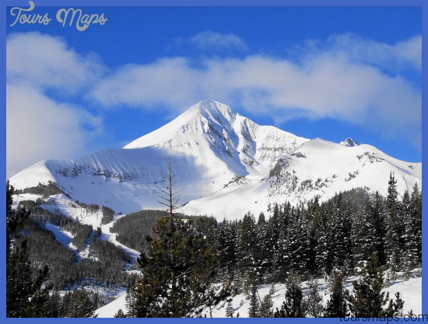 Lone Mountain peak in Big Sky, MT | Favorite Places & Spaces | Pinter ...