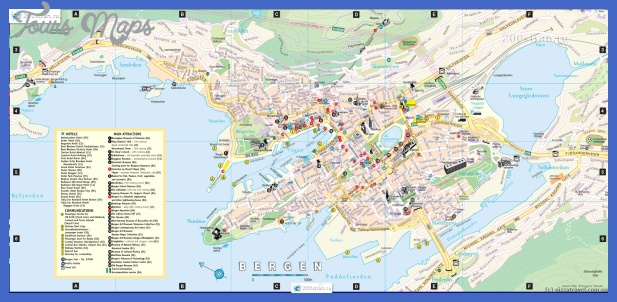 Map of Bergen ©Yuriy Buriak