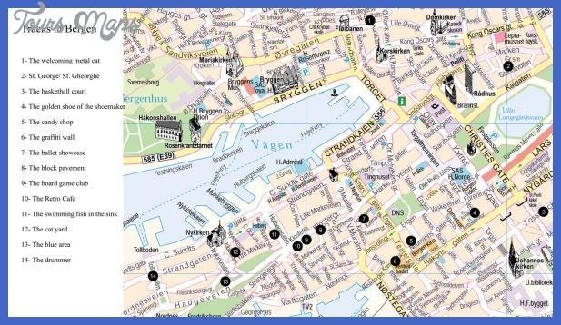 map of bergen 6 Map of Bergen
