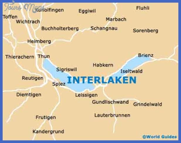 map of berne switzerland 13 Map of Berne Switzerland