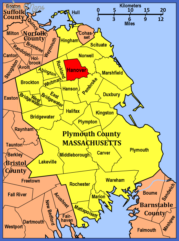 Town of Hanover in Plymouth County, Massachusetts.