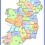 This county map of Ireland shows all 32 counties on theisland. It ...