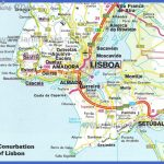 Conurbation of Lisbon Map