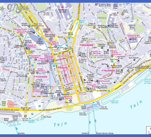 lisbon portugal map source http artofanderson com lisbon portugal map
