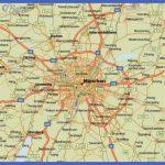 MAP OF MUNICH GERMANY - Pales Fenen