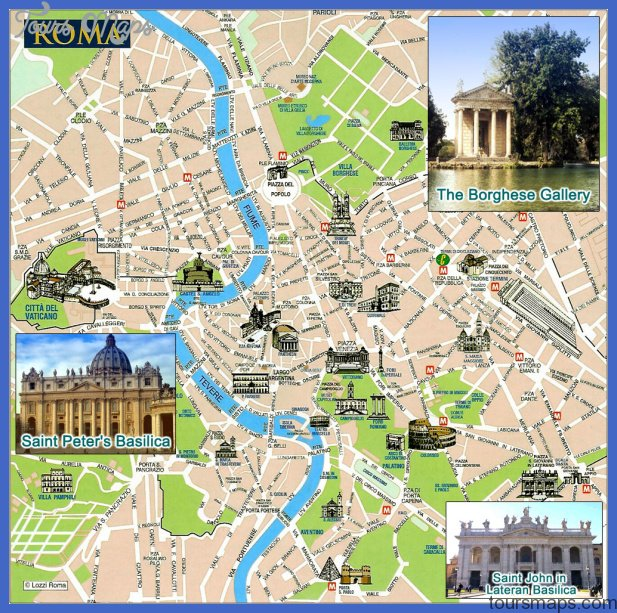 map of rome 3 Map of Rome