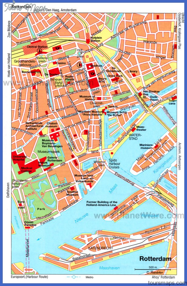 Rotterdam Map Printable images