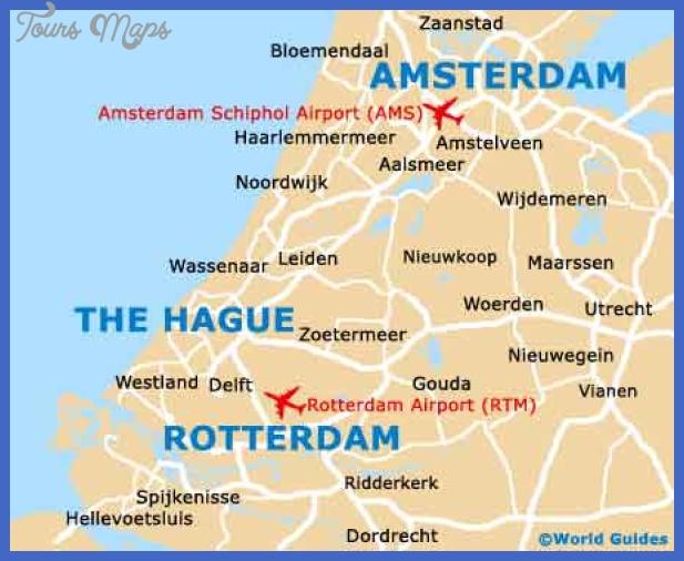 map of rotterdam 14 Map of Rotterdam