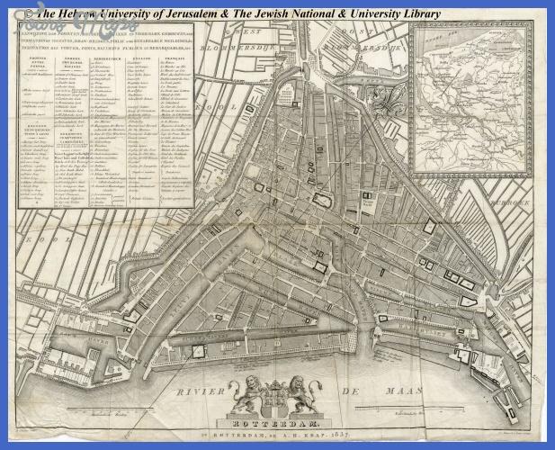 map of rotterdam 5 Map of Rotterdam