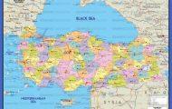 Map Of Turkey - 10...