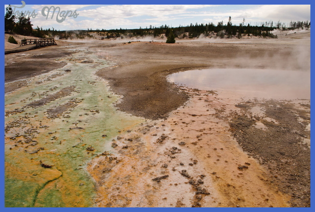 norris geyser basin in the history of yellowstone 2 Norris Geyser Basin in the History of Yellowstone