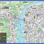 map of Prague city center. Prague city center detailed tourist map