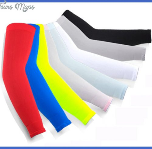 ... Sun Protection Cooling Arm Cuff Sleeves Warmer Cycling Golf Fishing