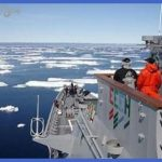 Navy leaders said rising water temperatures in the Arctic have forced ...