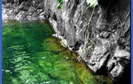 Rio Tinajas, Puerto Rico. #blackandwhite #color #river #landscape # ...
