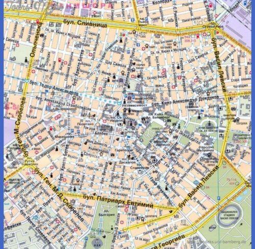 von sofia large scale city map of sofia weitere stadtpläne von sofia ...