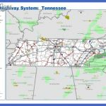 Tennessee Highway Map