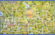 Attractions in Texas Map Dallas Texas Attraction Map