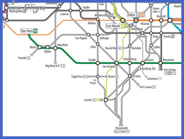 texas subway map 3 Texas Subway Map