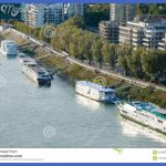 Travel to Bratislava city - ships moored along Waterfront Army General ...