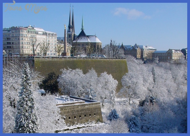Luxembourg City: Christmas & Winter - Luxembourg City travel video ...