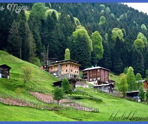 Travel to Turkey Trabzon of the most beautiful areas in terms of the ...
