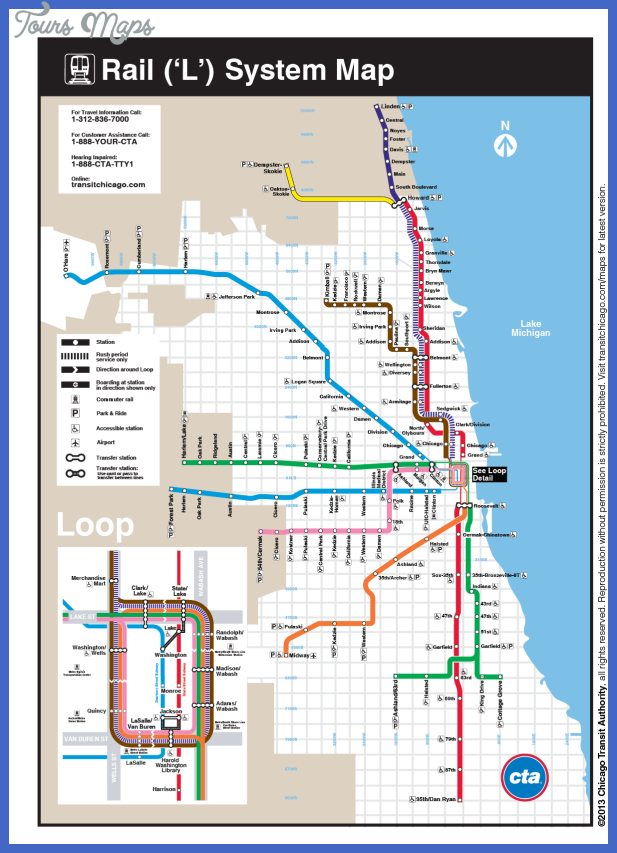 Virginia Duran Blog- Infographics- Subway Map- Chicago-