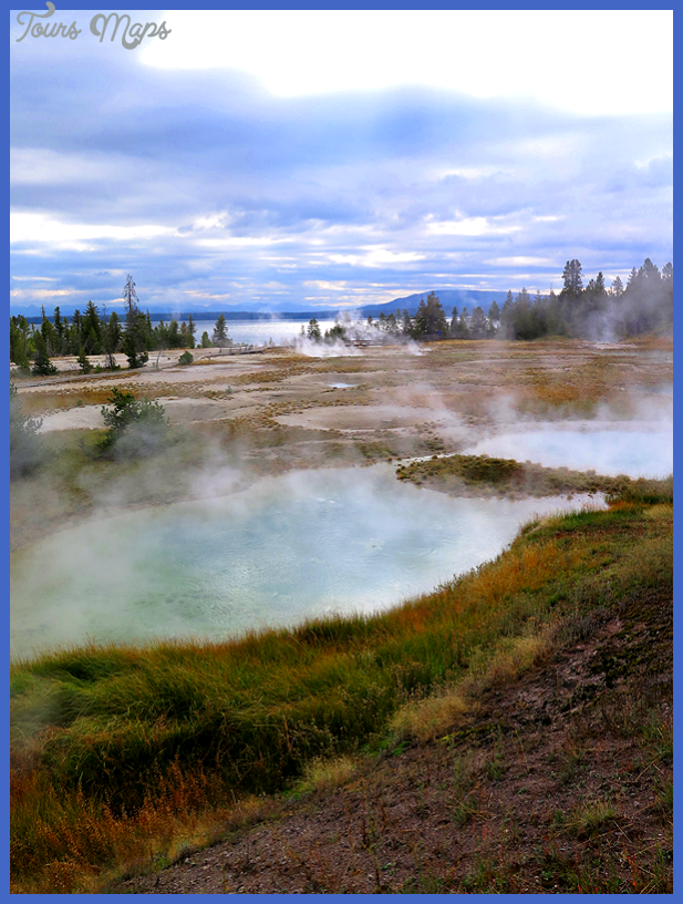 West Thumb Geyser Basin Yellowstone National Park : MrBrownThumb